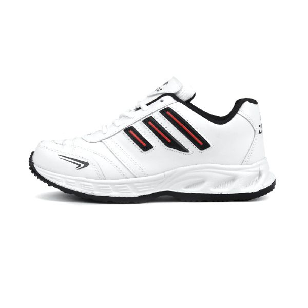 ZX-12 Mens White & Black Shoes 03