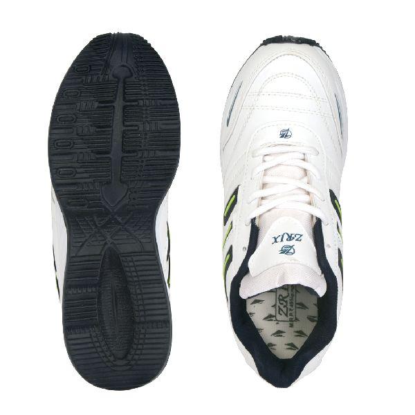 ZX-12 Mens White & Blue Shoes 05