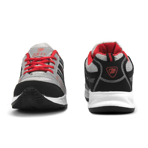 ZX-16 Black & Red Shoes 02