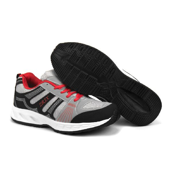 ZX-16 Black & Red Shoes 04