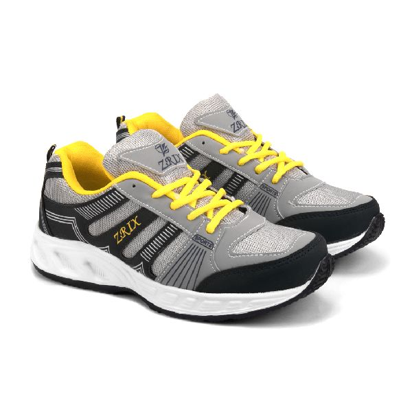 ZX-16 Navy Blue & Yellow Shoes 01
