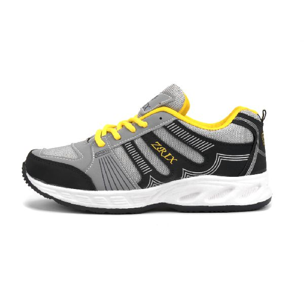 ZX-16 Navy Blue & Yellow Shoes 03