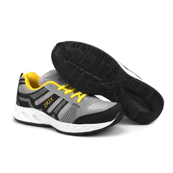 ZX-16 Navy Blue & Yellow Shoes 04