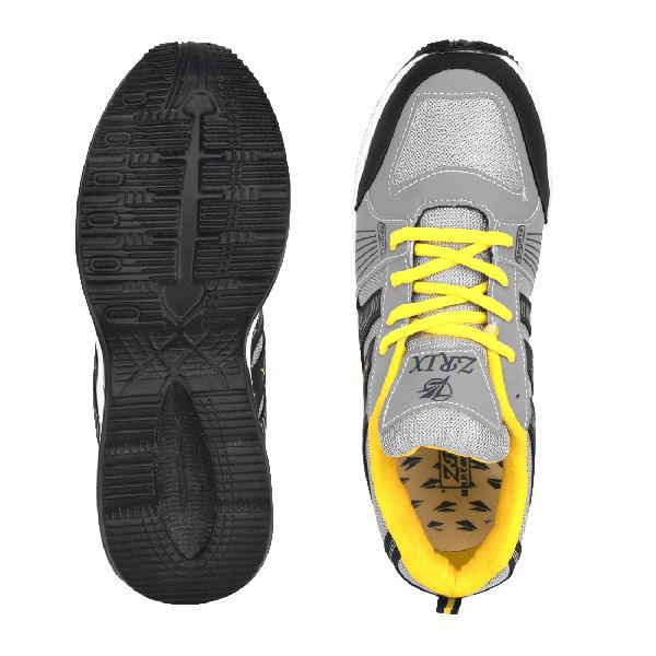 ZX-16 Navy Blue & Yellow Shoes 05