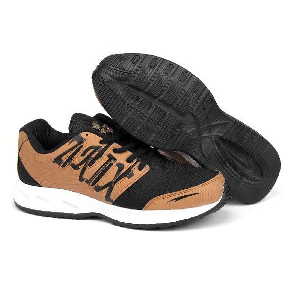 ZX-28 Tan Black Shoes 03