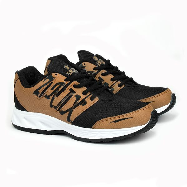 ZX-28 Tan Black Shoes 05