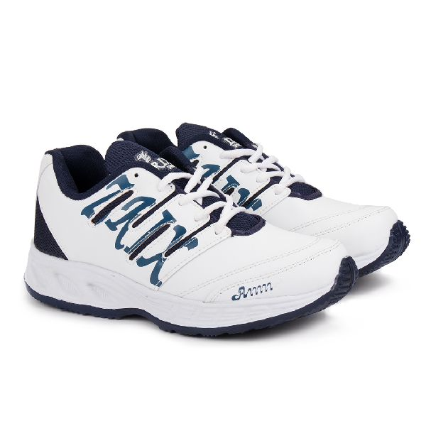 ZX-28 White & Blue Shoes 03