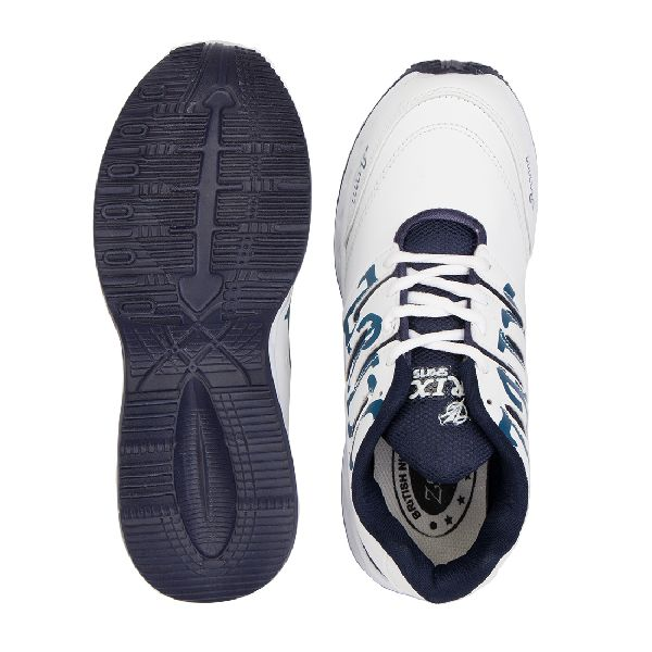 ZX-28 White & Blue Shoes 05