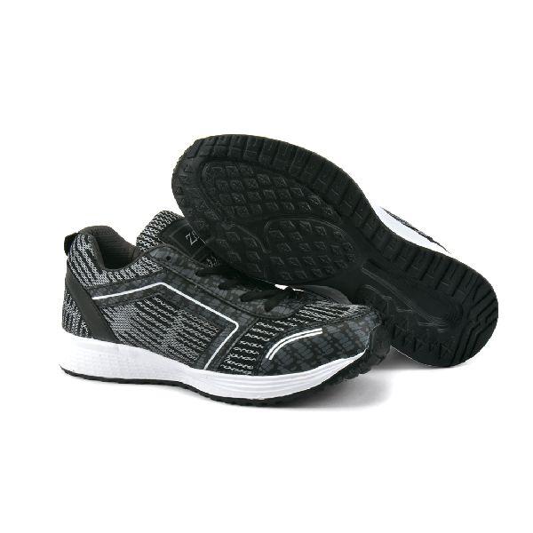 ZX-29 Grey & Black Shoes 04