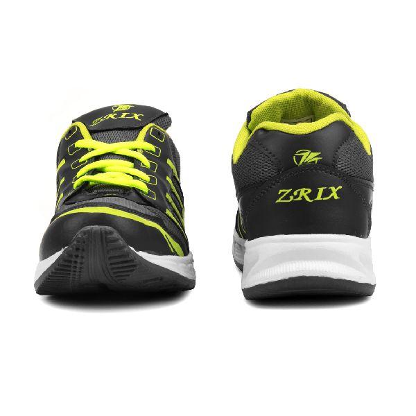 ZX 3 Mens Grey & P Green Shoe 01
