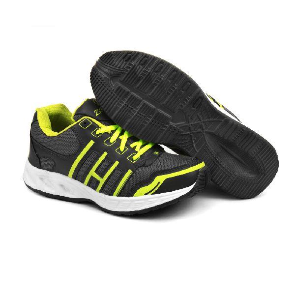 ZX 3 Mens Grey & P Green Shoe 03