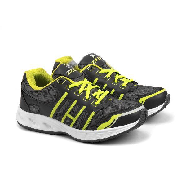 ZX 3 Mens Grey & P Green Shoe 05