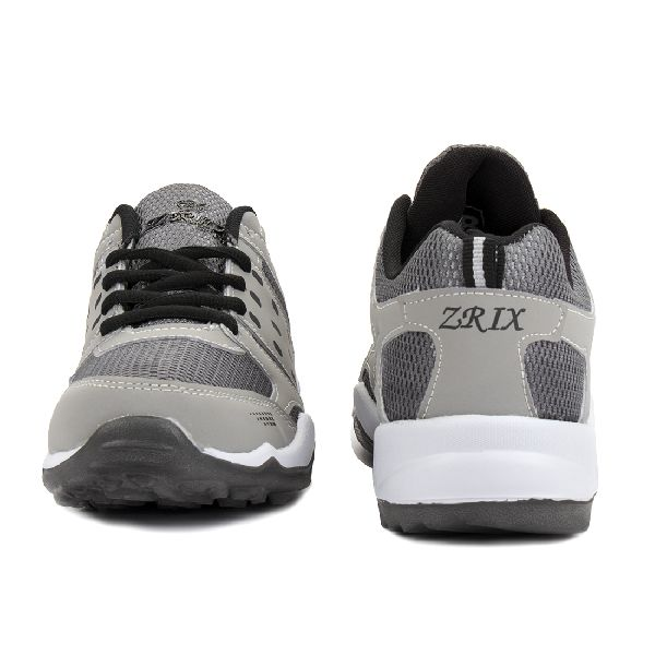 ZX-30 Grey & Black Shoes 01