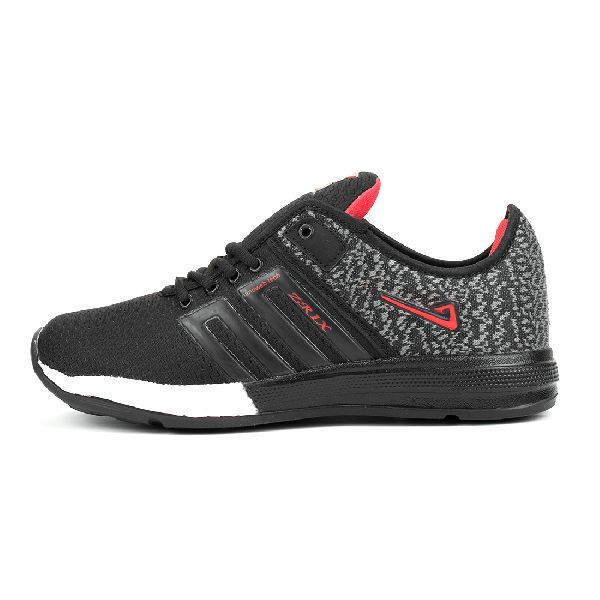 ZX-32 Black & Red Shoes 01