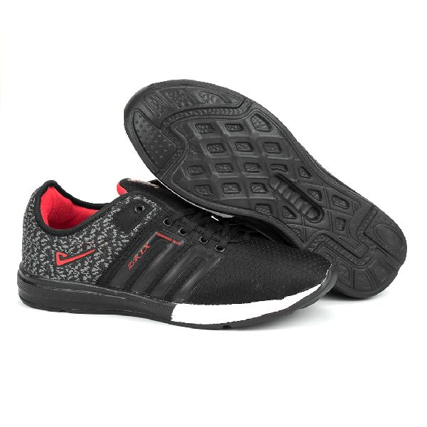 ZX-32 Black & Red Shoes 02