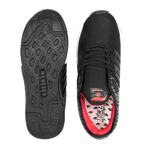 ZX-32 Black & Red Shoes 04
