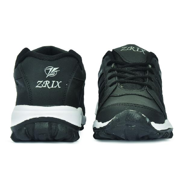 ZX 5 Mens Black Shoes 02