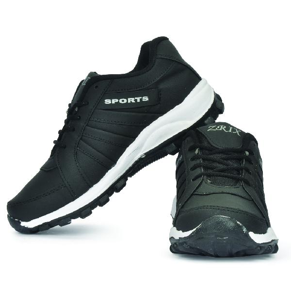 ZX 5 Mens Black Shoes 03