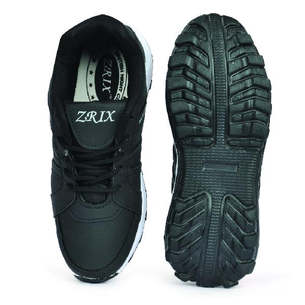 ZX 5 Mens Black Shoes 04