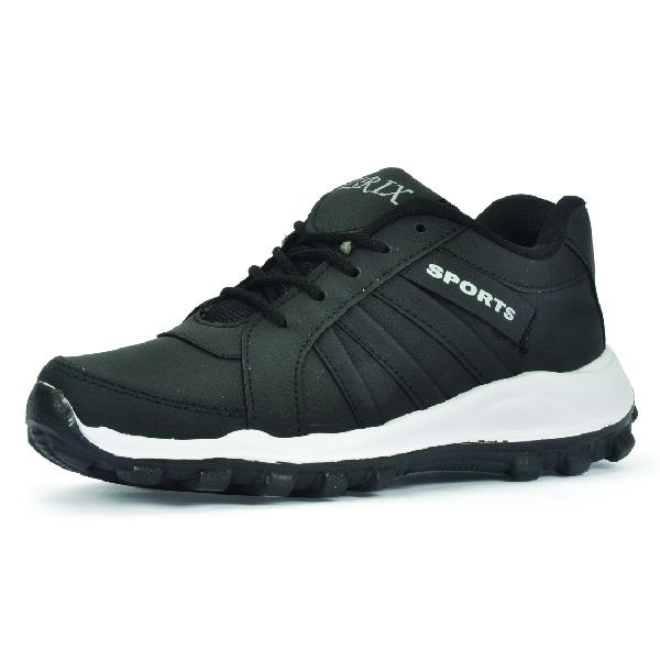 ZX 5 Mens Black Shoes 06