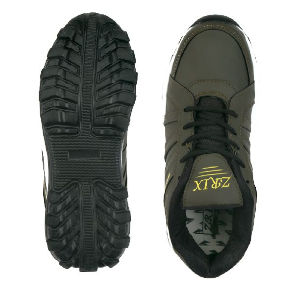 ZX 5 Mens Mehndi & Black Shoes 05