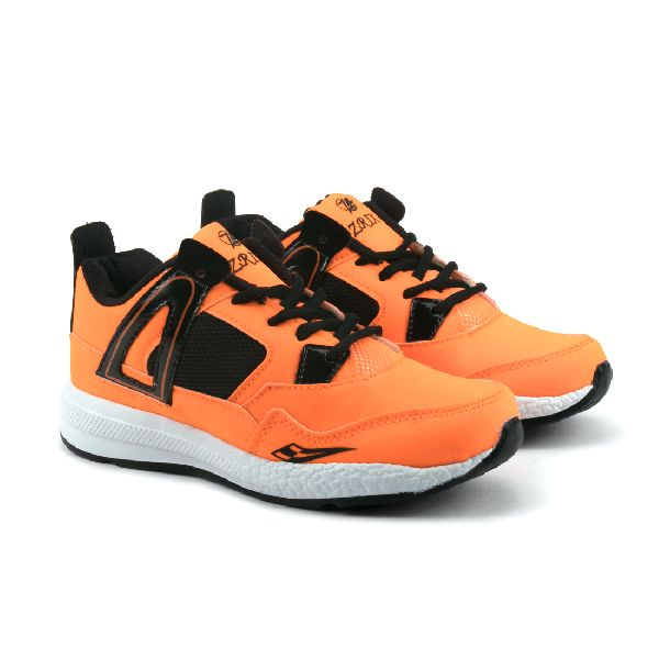 ZX-503 Black & Orange Shoes 01