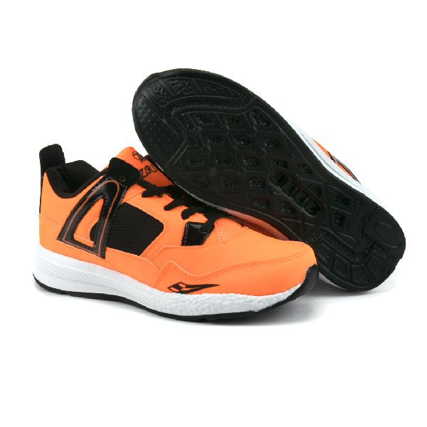 ZX-503 Black & Orange Shoes 04