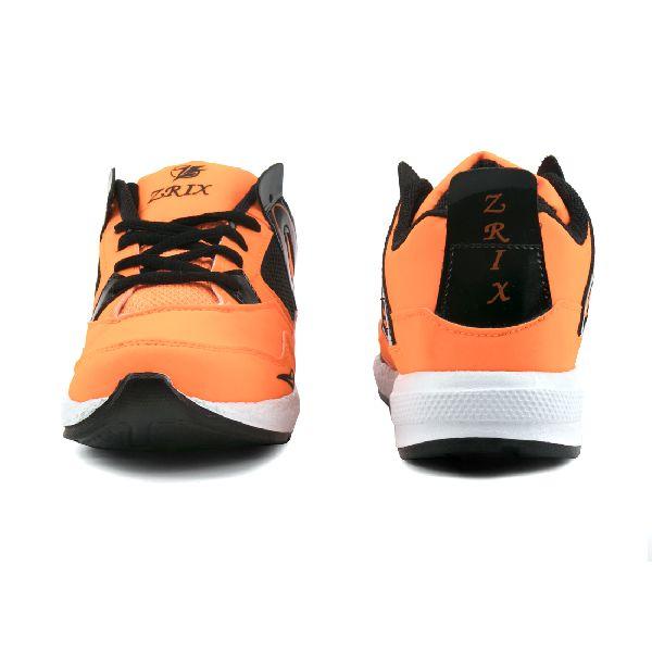 ZX 503 Mens Orange & Black Shoes 02