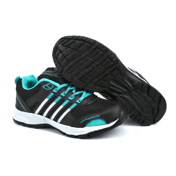 ZX 8 Mens Black & Sea Shoes 01