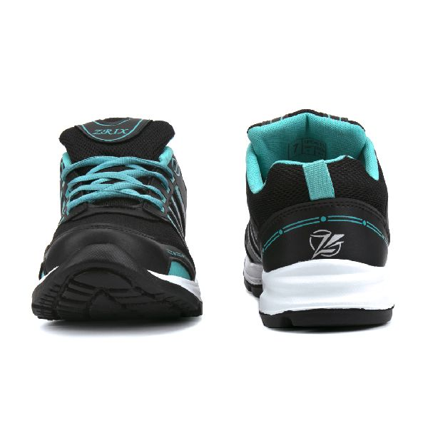 ZX 8 Mens Black & Sea Shoes 02
