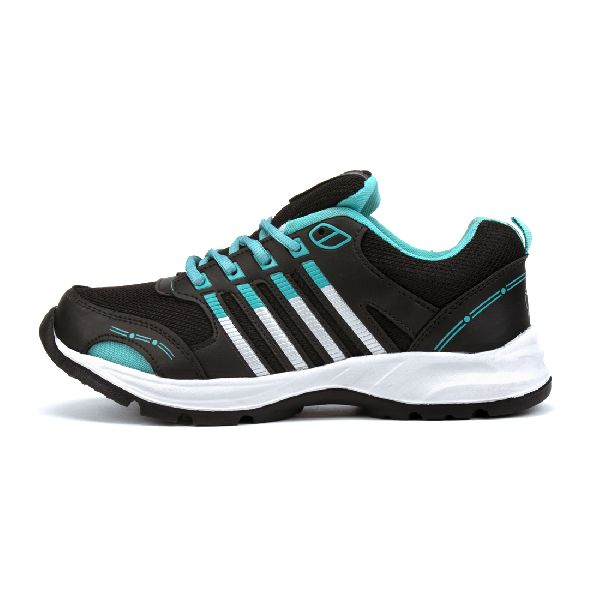 ZX 8 Mens Black & Sea Shoes 03