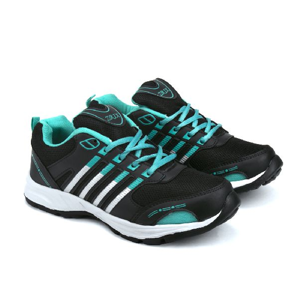 ZX 8 Mens Black & Sea Shoes 05