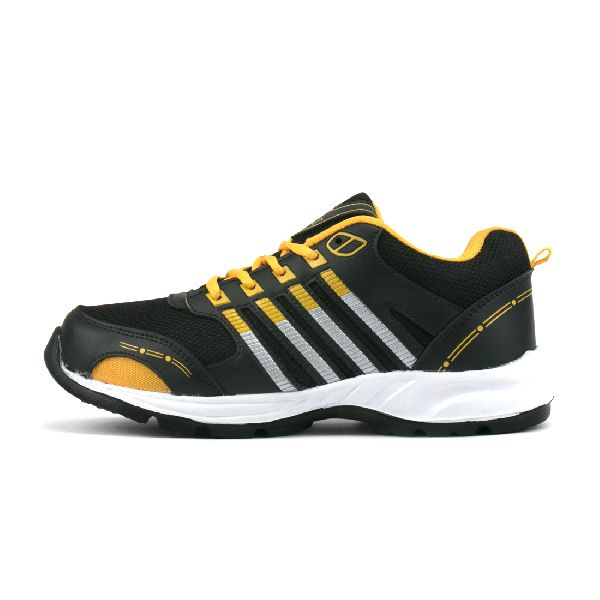 ZX 8 Mens Black & Yellow Shoes 03