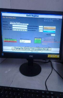 PC Based Man Operated Semi Automated Parking Management System 02