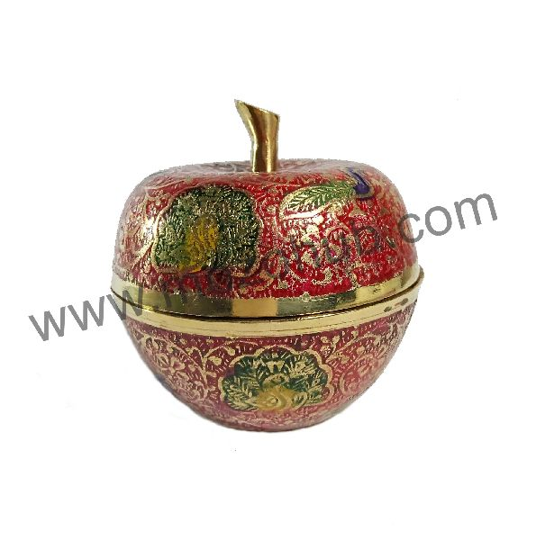Brass Apple Pot