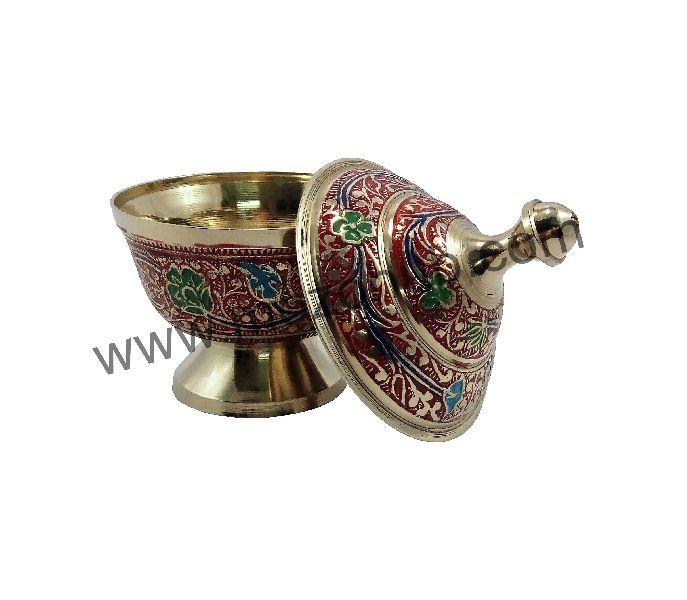 Brass Dome Pot