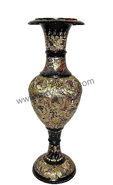 Brass Floor Vase 02