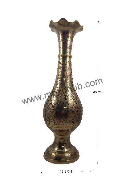 Brass Floor Vase 03