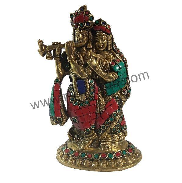 Brass Idol Statue 01