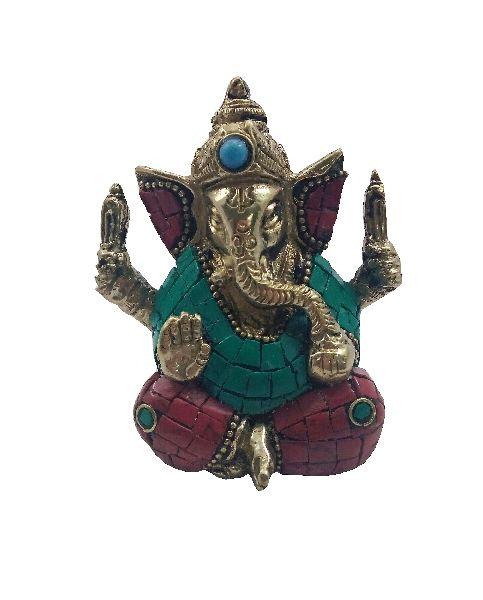 Brass Idol Statue 04