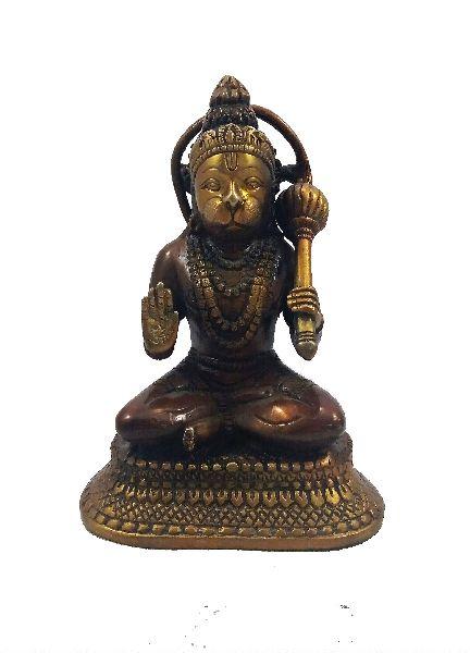Brass Idol Statue 05