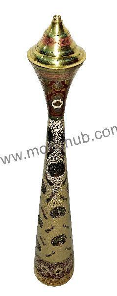 Brass Side Pillar Lamp 02