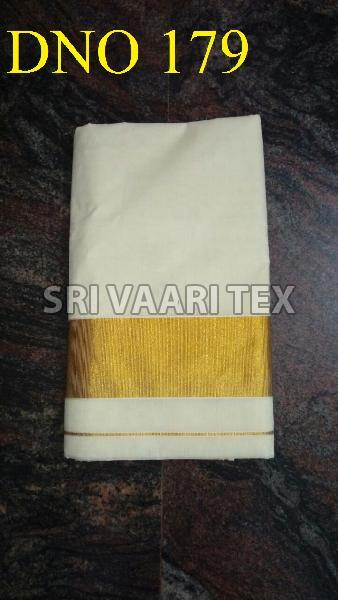 D No. 179 Kerala Cotton Saree