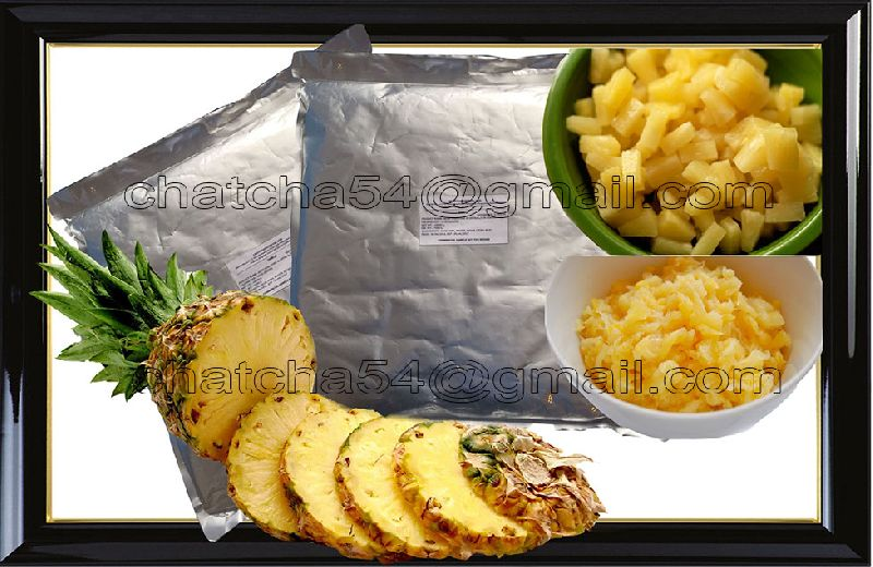 Pouched Pineapple Products