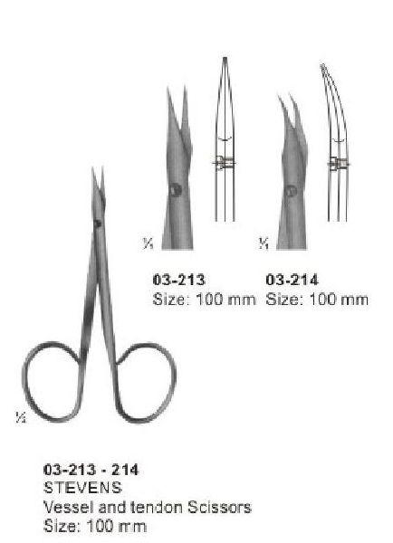 03-213-214 Stevens Vessel and tendon Scissors