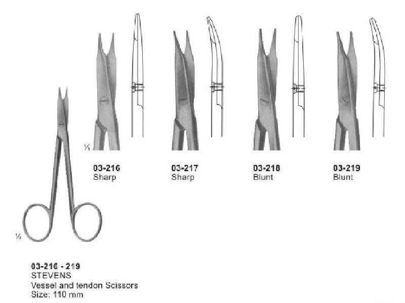 03-216-219 Stevens Vessel and Tendon  Scissor