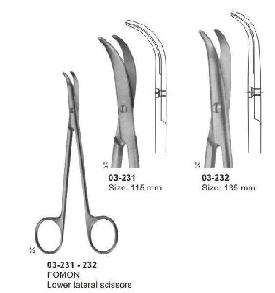 03-231-232 Fomon Lower Lateral Scissor