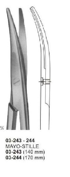 03-243-244 Mayco Stile Surgical Scissor