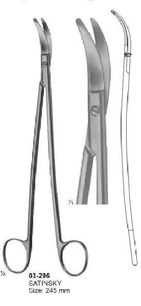 03-296 Cardiovascular and Neuro-Surgery Scissor