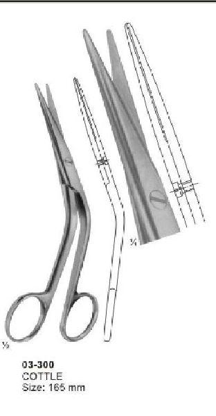 03-300 Delicate Nasal Tonsil Scissor